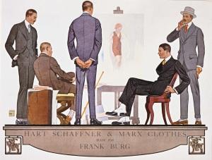 Mens 1930's Hart Schaffner