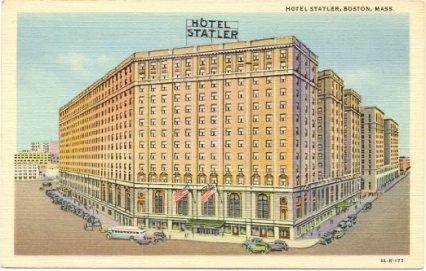 Statler Postcard 1940s